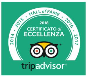 tripadvisor Hall of Fame 2014-2017