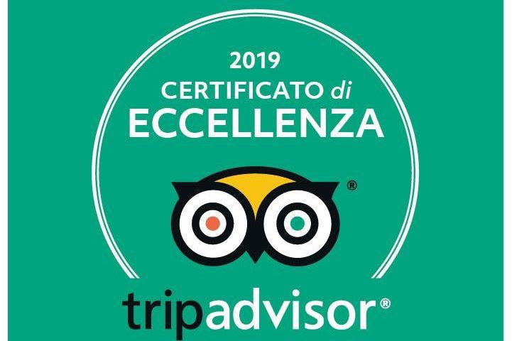 tripadvisor Certificato di Eccellenza 2019